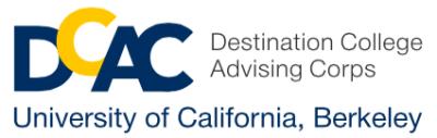 UC Berkeley EAOP/DCAC